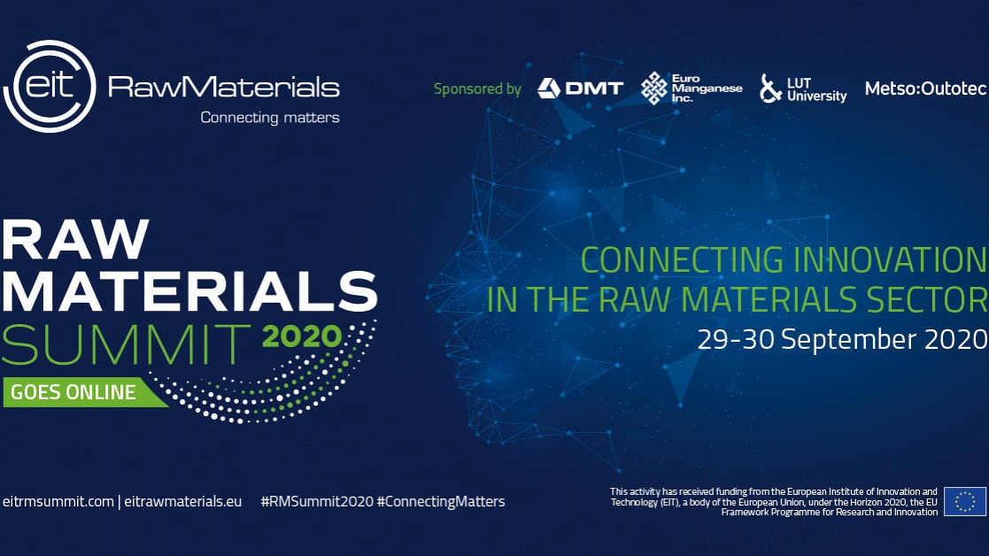 Raw Materials Summit 2020 goes online on 29-30 September 2020